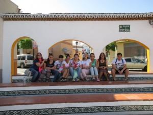 1ºC visita los dólmenes de Valencina