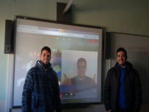 Videoconferencia de 2º de EVA con Pau García Milá